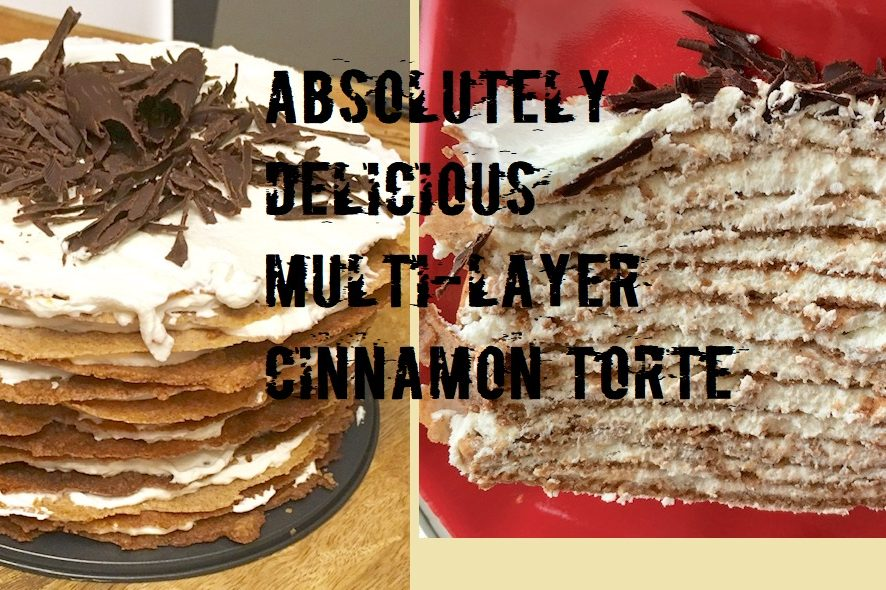 Another interesting idea for you to exceed your guests' expectations - Multi-Layer Cinnamon Torte