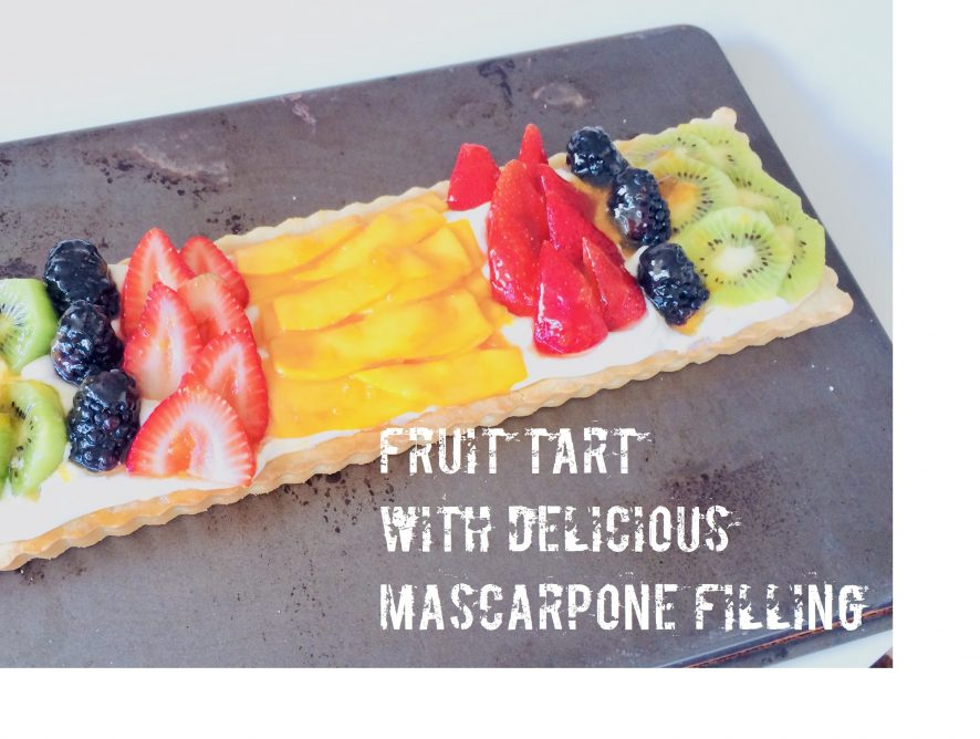 Fruit Tart - It's equally delicious as it is visually stunning