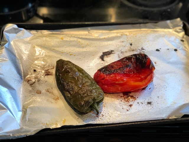 How to roast peppers and add them to everything