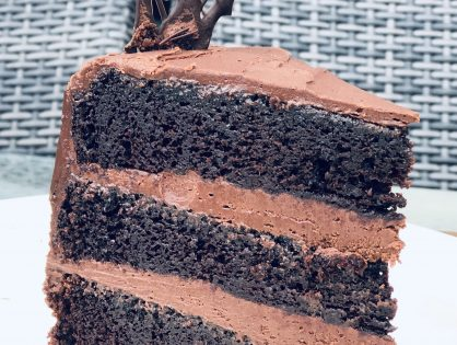 Perfect Chocolate Cake - Professional Take on this vintage recipe