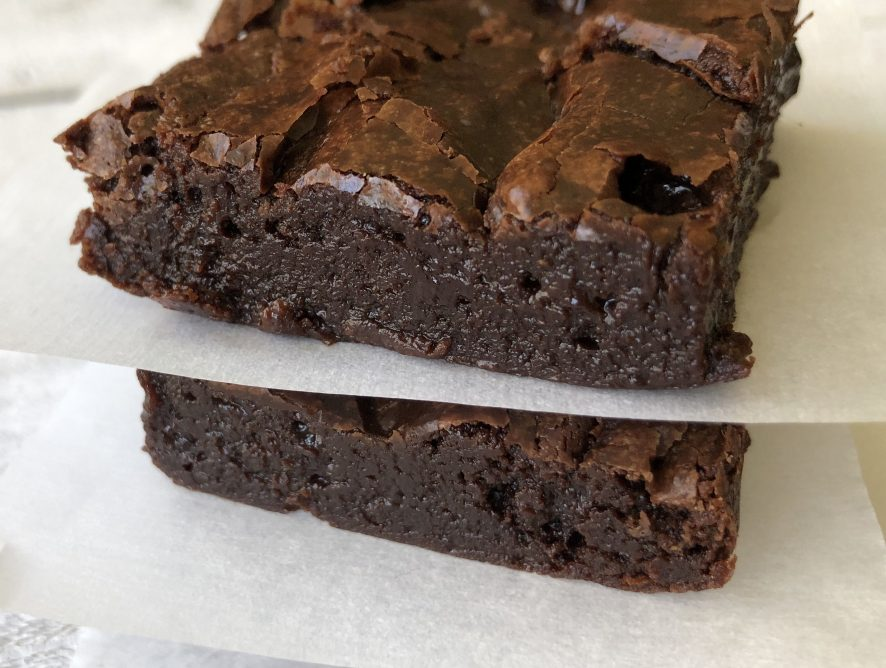 These best brownies happen to be flourless! Don't mistake this for a health move - they are deadly delicious!