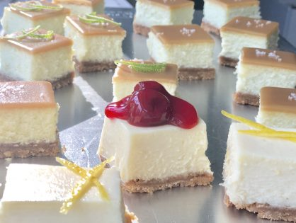 Lemon Cheesecake Bars. Omit this one ingredient for Vanilla Cheesecake Bars. Totally Delicious and Versatile!