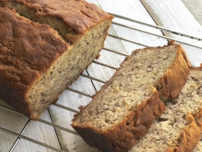 My Go-To Healthy Whole wheat banana bread. Version 1. One-bowl, easy as it gets recipe!