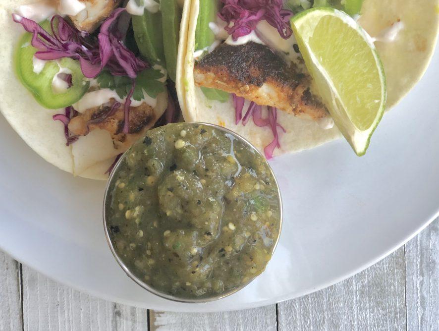 Salsa Verde (Tomatillo Salsa/Green Salsa)