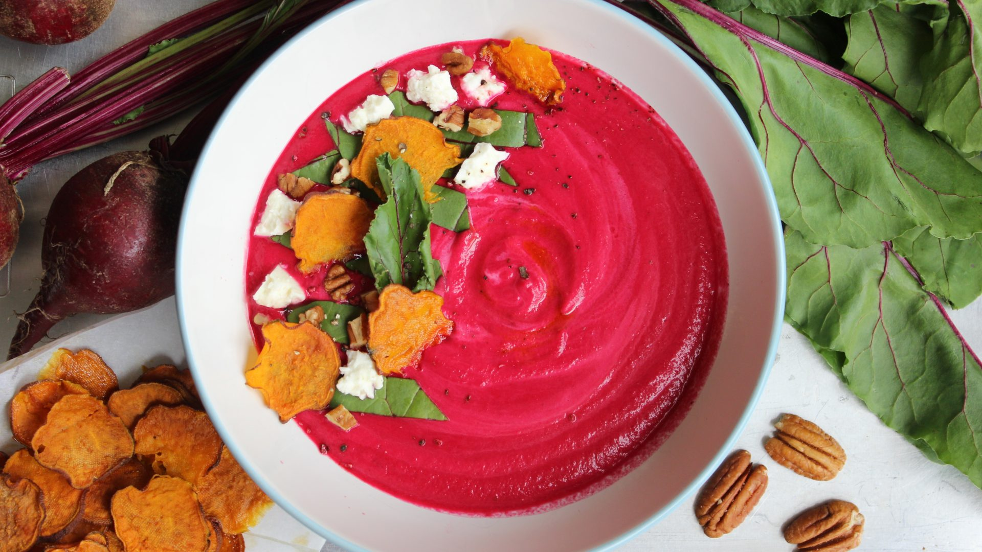 Earthy Sweet Beet Soup