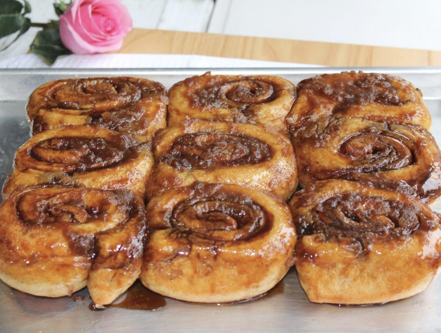 Rustic Overnight Whole Wheat Cinnamon Rolls
