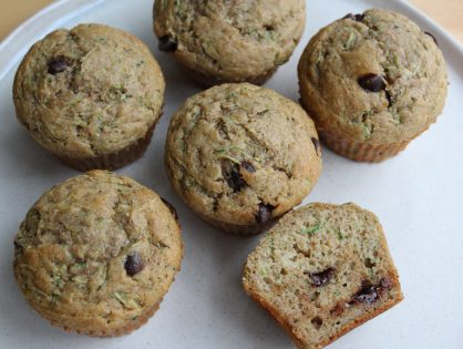 Wholesome, healthy, moist and delicious whole wheat zucchini muffins. As with most of my healthy baking recipes - simple one bowl preparation!