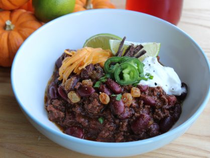 Chocolate Mole Chili?! You better believe it!